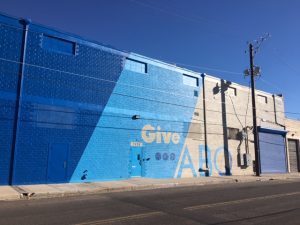 Give ABQ Blue Building
